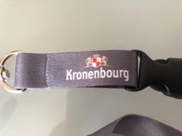 Porte Clé Ou Carte De La Bière Kronenbourg - Alcolici