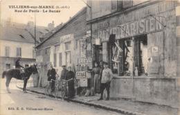 94-VILLIERS-SUR-MARNES- RUE DE PARIS- LE BAZAR - Villiers Sur Marne