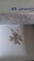 Pendentif Croix De Malte Argent Sterling - Colgantes