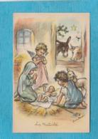Illustrateur : Germaine Bouret. - La Nativité. - Bouret, Germaine
