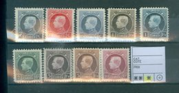 211-219  X    COB  40.00€ - 1919-1920 Behelmter König