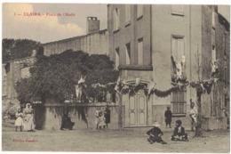 "CLAIRA PYRENEES ORIENTALES : "" PLACE DE L'HUILE "" - Andere Gemeenten"