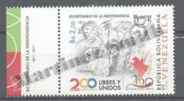 Venezuela 2011 Yvert 2997, America UPAEP - MNH - Venezuela