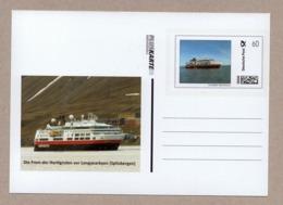 """BRD - """"Pluskarte Individuell"""" - Die FRAM Der Hurtigruten Vor Longyearbyen (Spitzbergen) - Posta Privata & Locale"""