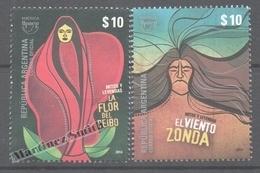 Argentina 2014 Yvert 3044- 45, America UPAEP, Myths And Legends  - MNH - Argentine