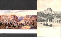 Smyrne - Grande Mosquée (Issar Djami) + 1 Card. - Turquie