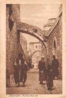 ¤¤  -  ISRAEL   -   JERUSALEM   -  The Ecce-Home Arch   -  Judaïca  -   ¤¤ - Israel