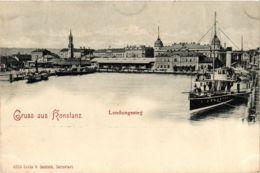 CPA AK Konstanz Landungssteg GERMANY (893527) - Konstanz