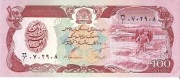 Afghanistan - Pick 58c - 100 Afghanis 1991 - Unc - Afghanistan