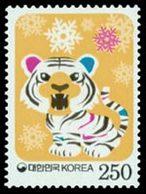 COREE DU SUD Année Du Tigre 2010 1v Neuf ** MNH - Korea (Süd-)