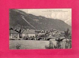 """73 Savoie, Montmélian, Le Pont Sur L'Isère, Vue Prise Rive Gauche, (cachet """"97° Regt D'Infanterie""""), 1915, (L. Blanc) - Montmelian"""