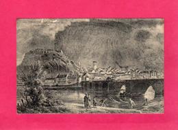73 Savoie, Montmélian En 1817, D'après Gravure, Animée, 1915, Cachet 97° Regt D'Infanterie - Montmelian