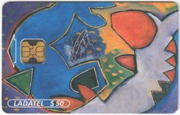 MEXICO B-063 Chip Telmex - Signs Of Zodiac, Pisces - Used - Mexico