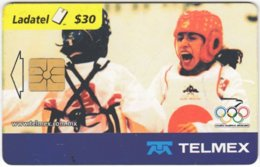 MEXICO B-066 Chip Telmex - Event, Sport, Olympic Games, Tae Kwon Do - Used - Mexico