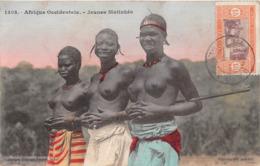 ¤¤  - AFRIQUE-OCIDENTALE  -  SENEGAL  -   Femmes Aux Seins Nus  -  Jeunes Malinkés  -  Oblitération  -   ¤¤ - Sénégal