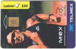 MEXICO B-077 Chip Telmex - Event, Sport, Olympic Games, Triathlon - Used - Mexico