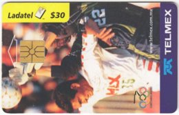 MEXICO B-079 Chip Telmex - Event, Sport, Olympic Games, Soccer - Used - Mexico