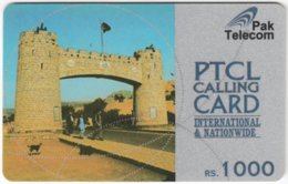 PAKISTAN A-133 Prepaid PTCL - Culture, Historic Building - Used - Pakistan