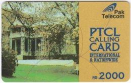 PAKISTAN A-134 Prepaid PTCL - Culture, Historic Building - Used - Pakistan