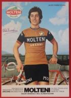 Cyclisme : Aldo Parecchini, Avec Dédicace, équipe Molteni - Cyclisme