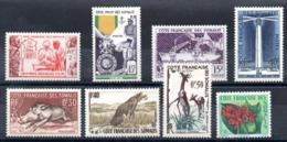 SOMALIS - YT N° 283 à 290 - Neufs ** - MNH - Cote: 38,60 € - Französich-Somaliküste (1894-1967)