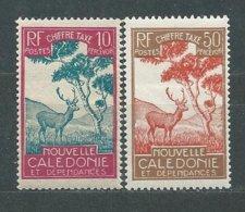 NOUVELLE-CALEDONIE TIMBRE-TAXE  N° 29+34  ** TB - Portomarken