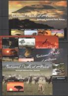 Y411 2015 SIERRA LEONE WILD ANIMALS NATIONAL PARKS #5934-43 MICHEL 60 EURO 2KB+2BL MNH - Stamps