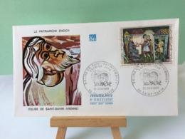 Le Patriarche Enoch (église Saint Savin) - 86 Saint Savin - 28.6.1969 FDC 1er Jour Coté 2,70€ - FDC