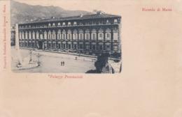CARTOLINA - MASSA - RICORDO DI MASSA - PALAZZO PROVINCIALE - VIAGGIATA PER PISA ( FRANCOBOLLO ASPORTATO) - Massa