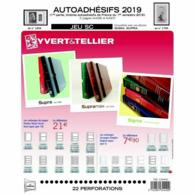 JEU FRANCE SUPRA YVERT AUTOADHESIFS 2019 1ER SEMESTRE - Pré-Imprimés