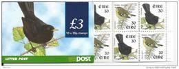 Irlande 1998 Carnet N°1105  Neuf ** Oiseaux Roitelet Et Merle - Booklets