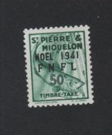 Faux Saint-Pierre Et Miquelon Taxe N° 47 50 C Gomme Sans Charnière - Timbres-taxe