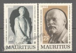 Maurice - Mauritius - Mauricio 1970 Yvert 362-63, Centenary Of Lenin´s Birth - MNH - Mauritius (1968-...)
