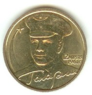 Russia 2 Rubles 2001 Gagarin Y#675 - Russland