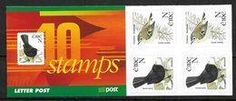 Irlande 2001 Carnet N°1381  Neuf ** Oiseau Roiteler Et  Merle - Booklets