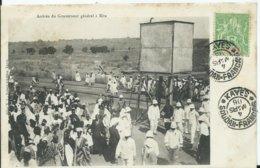 MALI - Arrivée Du Gouverneur Général à KITA (voyagée) - Mali