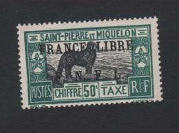 Faux Saint-Pierre Et Miquelon Taxe N° 54 Gomme Sans Charnière - Timbres-taxe