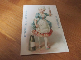 Chromo ,Biscuits Victoria Bruxelles - Trade Cards