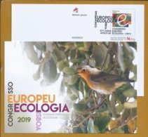 Ecology. Postal Stationery Of European Congress Of Ecology Lisbon. Ökologie. Éiceolaíocht. Ekologia. Økologi. Écologie - Environment & Climate Protection