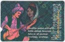 TURKEY B-937 Magnetic Telekom - Painting, Traditional People - Used - Türkei