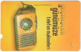 TURKEY B-955 Magnetic Telekom - Communication, Historic Telephone - Used - Türkei