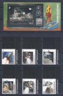 Jersey (2019) 50th Anniversary Of Moon Landing - Set Of 6 Stamps And S/s (MNH) - As Scan - Other