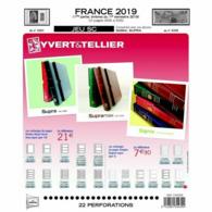 JEU FRANCE SUPRA YVERT  2019 1ER SEMESTRE - Pré-Imprimés