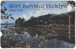 TURKEY B-998 Magnetic Telekom - Landscape, Lake - Used - Türkei