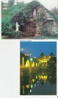 MONTAUBAN. 2 CP Maison De Retraite L'Ange Gardien - Le Pont Vieux La Nuit - Montauban