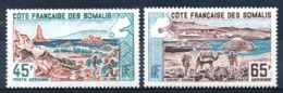 SOMALIS - YT PA N° 43-44 - Neuf ** - MNH - Cote: 9,00 € - Côte Française Des Somalis (1894-1967)