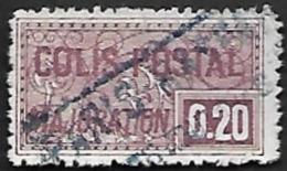 COLIS 1938 - Majoration - YT 158 - Oblitéré - Cote 20e - Paketmarken