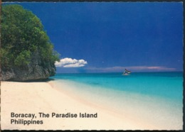 °°° 14485 - PHILIPPINES - BORACAY , THE PARADISE ISLAND - 1992 With Stamps °°° - Filippine