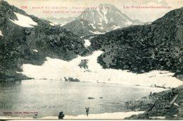CPA -  MASSIF DE CARLITTE -  ETANG DE LANIGOUNEILLE - France
