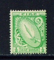 IRELAND  -  1922-23 Irish Free State First Definitives 1/2d Mounted/Hinged Mint - Nuovi